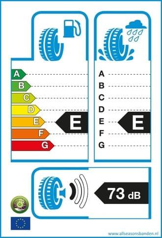 Bandenlabel E E 73